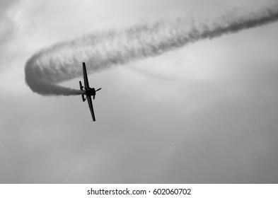 Acrobatic airplane