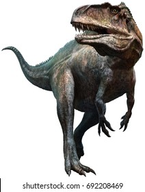 Acrocanthosaurus 3D illustration