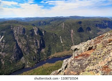 Acropole des Draveurs, Hautes-Gorges-de-la-Rivière-Malbaie National Park