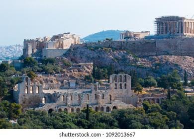 acropolis athens capital of greece europe