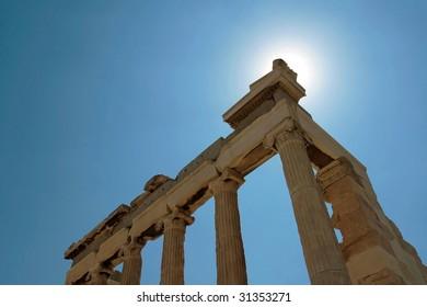 Acropolis Athens Greece ancient ruins