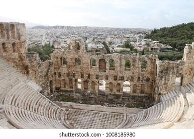 Acropolis, Athens, Greece, Temple of Dionysus
