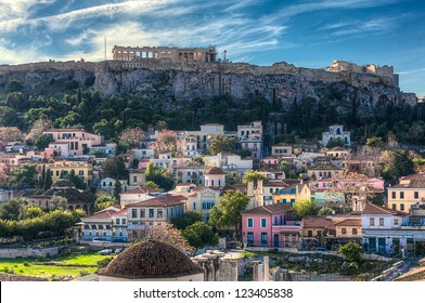 Acropolis in Athens,Greece