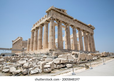 The Acropolis of Athens-sights and temples. Parthenon