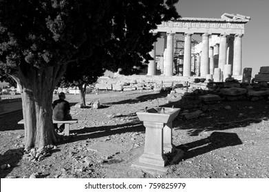 Acropolis classic Greece.