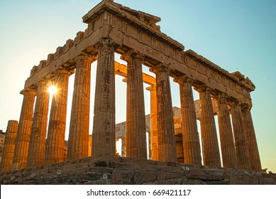 Acropolis and Parthenon of Athens