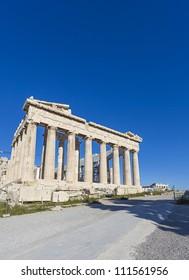 Acropolis and Parthenon in Greece