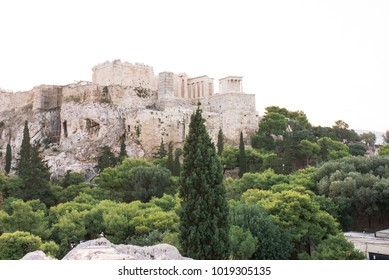 Acropolis in a summer day in Athens, Greece