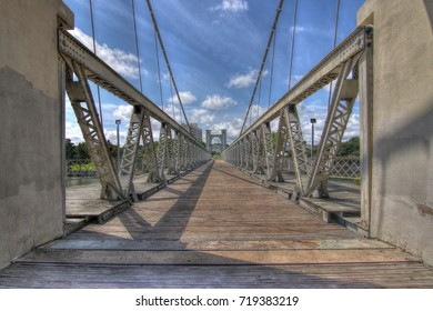 Across the Bridge in Waco Texas