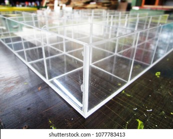 acrylic drawer partition