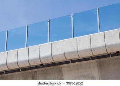 Acrylic reinforced reflective type on high way