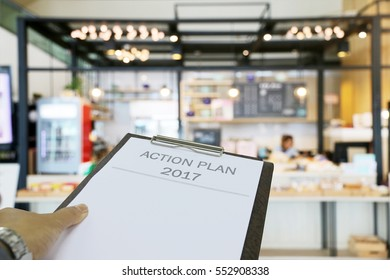 Action Plan 2017 business coffee shop