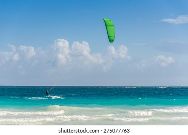 Action Sport at Mexico near Playa del Carmen and Cancun.