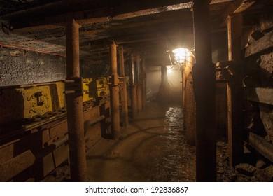 Active coal mine in Dbrowa Garnicza, Poland