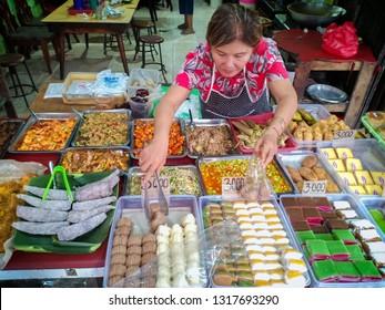 Activities in Traditional Market in Jakarta, Indonesia. 09 02 2019