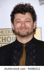 Actor ANDY SERKIS at the 11th Annual Critics' Choice Awards in Santa Monica, presented by the Broadcast Film Critics Association. January 9, 2006  Santa Monica, CA  2006 Paul Smith / Featureflash