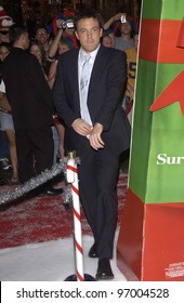 Actor BEN AFFLECK at the Hollywood premiere of his new movie Surviving Christmas. October 14, 2004