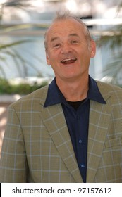 Actor BILL MURRAY at the 58th Annual Film Festival de Cannes to promote his movie Broken Flowers. May 17, 2005 Cannes, France.  2005 Paul Smith / Featureflash