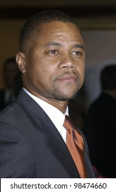 Actor CUBA GOODING JR. at the National Multiple Sclerosis Society's 29th Annual Dinner of Champions honoring Bob and Harvey Weinstein. Sept 25, 2003  Paul Smith / Featureflash