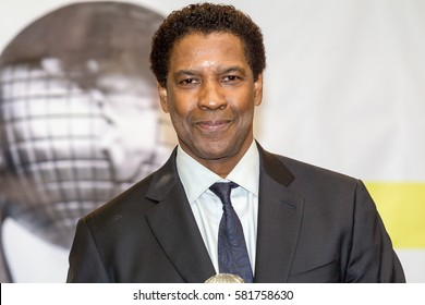 Actor Denzel Washington attends the 48th NAACP IMAGE AWARDS on Saturday February 11, 2017 at Pasadena Civic Auditorium in California - USA