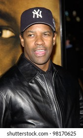 Actor DENZEL WASHINGTON at the Los Angeles premiere of his new movie John Q. 07FEB2002.    Paul Smith/Featureflash