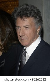 Actor DUSTIN HOFFMAN at the Costume Designers Guild Awards in Beverly Hills. Mar 16, 2003  Paul Smith / Featureflash