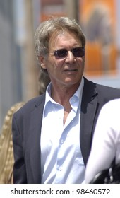 Actor HARRISON FORD on Hollywood Boulevard where he was honored with the 2,226th star on the Hollywood Walk of Fame. 30MAY2003