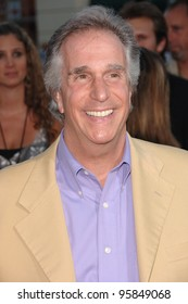 "Actor HENRY WINKLER at the Los Angeles premiere of his new movie ""Click"". June 14, 2006  Los Angeles, CA  2006 Paul Smith / Featureflash"