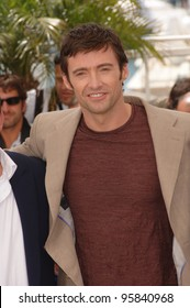 "Actor HUGH JACKMAN at the photocall for ""X-Men 3: The Last Stand"" at the 59th Annual International Film Festival de Cannes. May 17, 2006  Cannes, France.  2006 Paul Smith / Featureflash"