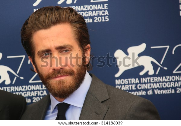 Actor Jake Gyllenhaal attends 'Everest' Photocall during the 72nd Venice Film Festival on September 2, 2015 in Venice, Italy.