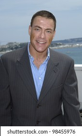Actor JEAN-CLAUDE VAN DAMME at the Cannes Film Festival to promote his movie After Death. 18MAY2003
