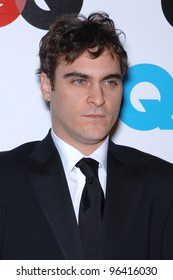 Actor JOAQUIN PHOENIX at GQ Magazine's 2005 Men of the Year party in Beverly Hills. December 1, 2005  Beverly Hills, CA.  2005 Paul Smith / Featureflash