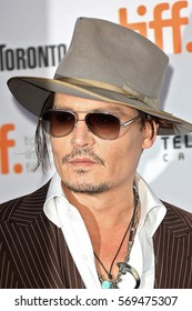 ca60464c58d06 Actor Johnny Depp attends  The Danish Girl  premiere during the 2015  Toronto International Film