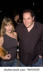 Actor JON FAVREAU at the world premiere, in Beverly Hills, of the new tennis romantic comedy Wimbledon. September 13, 2004