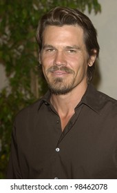 Actor JOSH BROLIN at the 30th Anniversary Women in Film Crystal and Lucy Awards in Beverly Hills.  June 2, 2003