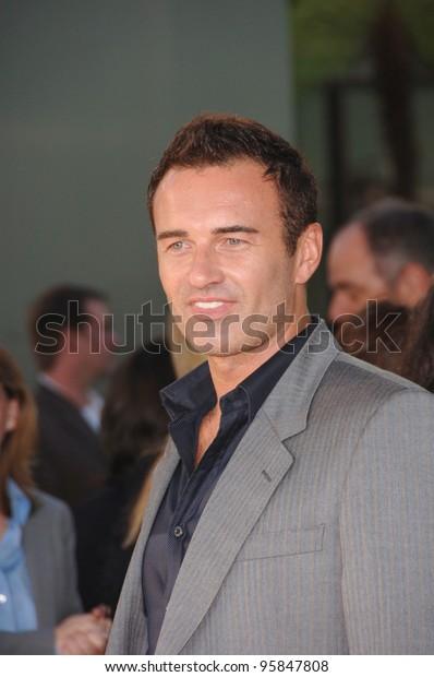 Actor Julian Mcmahon World Premiere Hollywood Stock Photo
