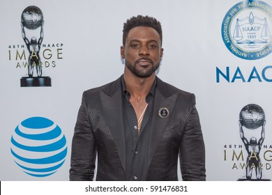 Actor Lance Gross attends the 48th annual NAACP IMAGE AWARDS at the Pasadena Civic Auditorium on February 11, 2017 in Pasadena, California - USA