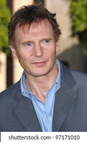 Actor LIAM NEESON at the Los Angeles premiere of his new movie Batman Begins. June 6, 2005 Los Angeles, CA.  2005 Paul Smith / Featureflash