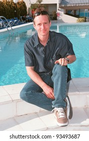 """Actor LINUS ROACHE at the 1999 Cannes Film Festival to promote his new movie """"Siam Sunset"""" in which he stars with Danielle Cormack.  Paul Smith / Featureflash"""