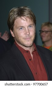Actor LOCHLYN MUNROE at the world premiere, in Hollywood, of his new movie Freddy vs. Jason. Aug 13, 2003  Paul Smith / Featureflash