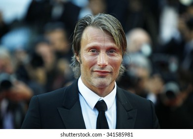 Actor Mads Mikkelsen attends the Closing Ceremony and the 'Therese Desqueyroux' Premiere during the 65th Annual Cannes Film Festival at Palais des Festivals on May 27, 2012 in Cannes, France.