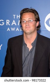 Actor MATTHEW PERRY at the 2002 Grammy Awards in Los Angeles.