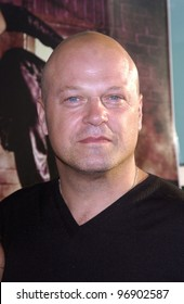 Actor MICHAEL CHIKLIS at the world premiere, in Hollywood, of Catwoman. July 19, 2004