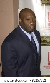 Actor MICHAEL CLARKE DUNCAN at the Broadcast Film Critics 8th Annual Critics' Choice Awards at the Beverly Hills Hotel. 17JAN2003.   Paul Smith / Featureflash