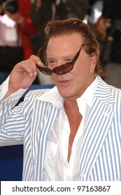 Actor MICKEY ROURKE at the 58th Annual Film Festival de Cannes to promote his movie Sin City. May 18, 2005 Cannes, France.  2005 Paul Smith / Featureflash