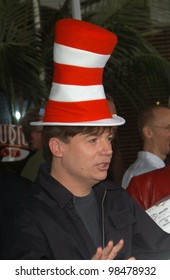 8580682e Actor MIKE MYERS at the world premiere, in Hollywood, of his new movie Dr