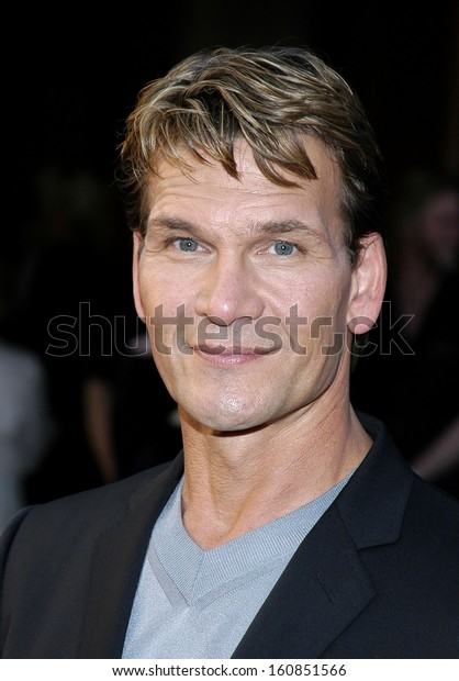 Actor Patrick Swayze Attends Exclusive Vip Stock Photo (Edit