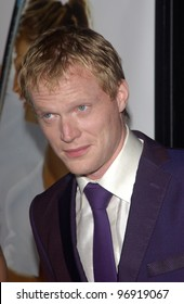 Actor PAUL BETTANY at the world premiere, in Beverly Hills, of his new movie romantic tennis comedy Wimbledon. September 13, 2004