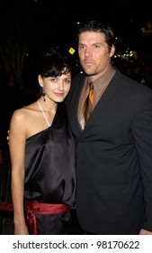 Actor PAUL JOHANSSON & girlfriend GABRIELLA at the Los Angeles premiere of his new movie John Q. 07FEB2002.    Paul Smith/Featureflash