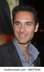 Actor RAOUL BOVA at the world premiere of Intolerable Cruelty, in Beverly Hills. Sept 30, 2003  Paul Smith / Featureflash